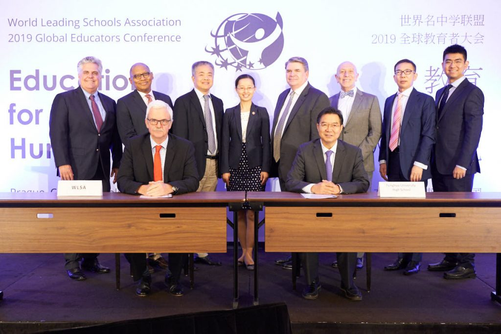 2019 Signing of the Memorandum of Understanding Between WLSA and Tsinghua University