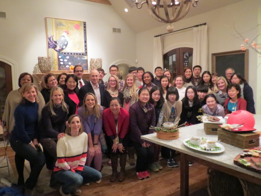2015 East to West Exchange at Lovett School (US)