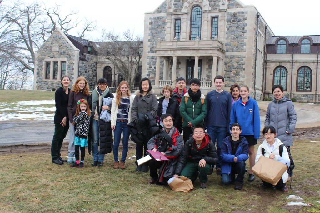 2014 East to West Exchange at Hackley School (US)